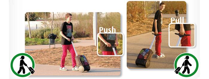 Рюкзак на колесиках Roller Nikidom Camo XL  арт. 9324 (27 литров), - фото 10