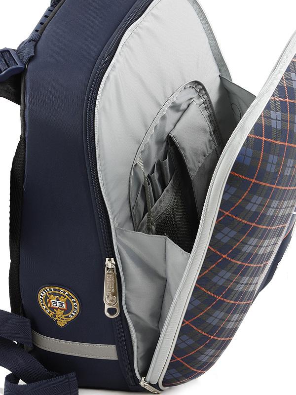 Школьный рюкзак OXFORD MIKE MAR 1008-161 синий + мешок, - фото 5