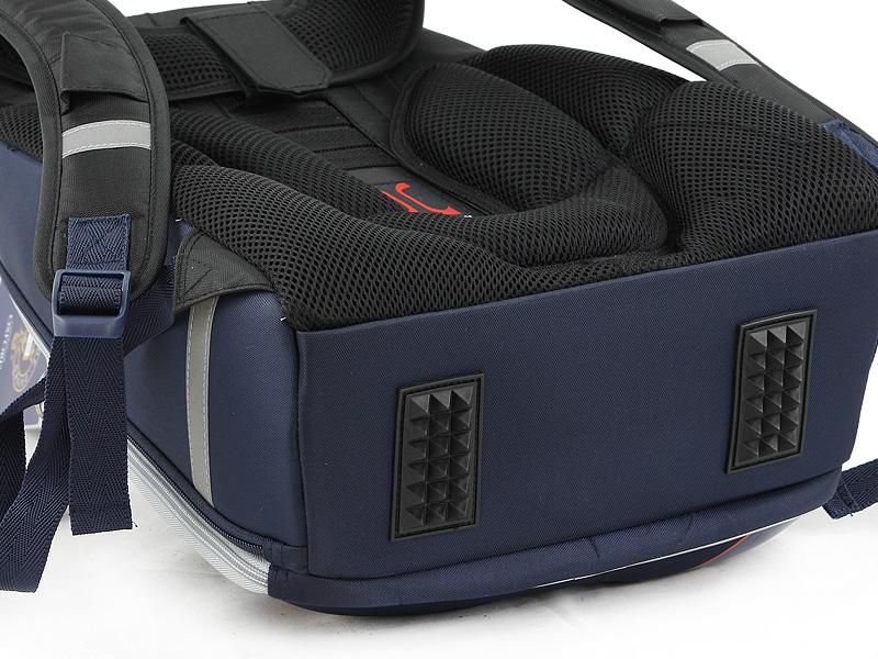 Школьный рюкзак OXFORD MIKE MAR 1008-161 синий + мешок, - фото 6