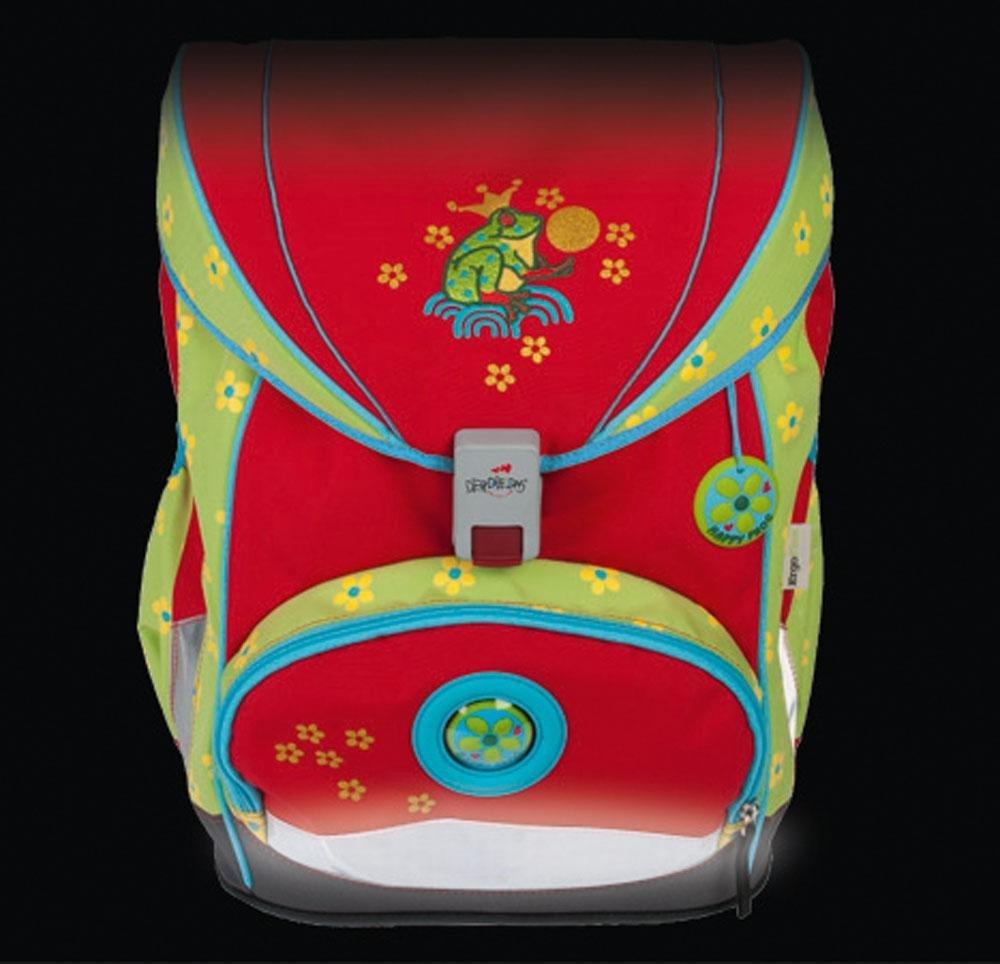 Школьный ранец DerDieDas ErgoFlex XL с наполнением Диско + нагрудный ремень, - фото 10