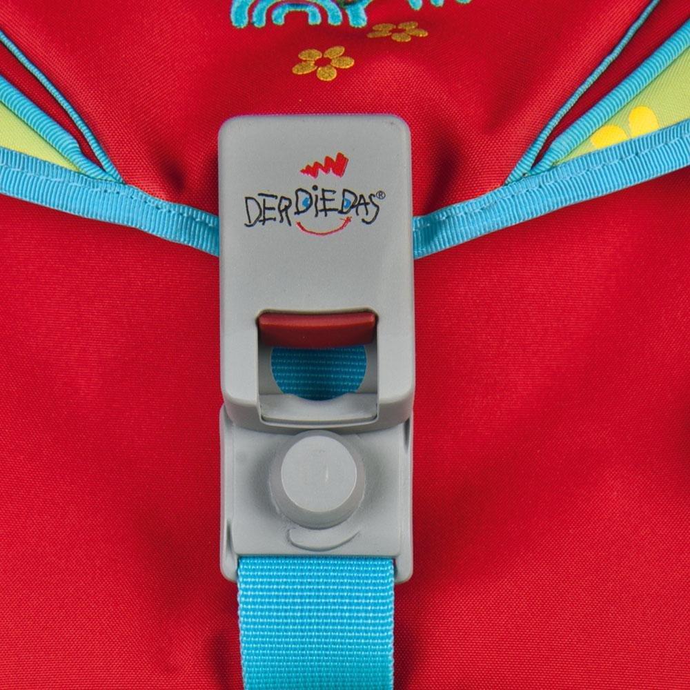 Ранец Derdiedas Ergoflex Дельфин с наполнением + нагрудный ремень, - фото 6