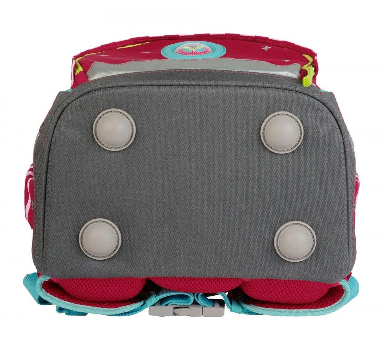 Школьный ранец DerDieDas ErgoFlex XL с наполнением Диско + нагрудный ремень, - фото 8