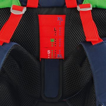 Школьный ранец DerDieDas ErgoFlex XL с наполнением Диско + нагрудный ремень, - фото 12