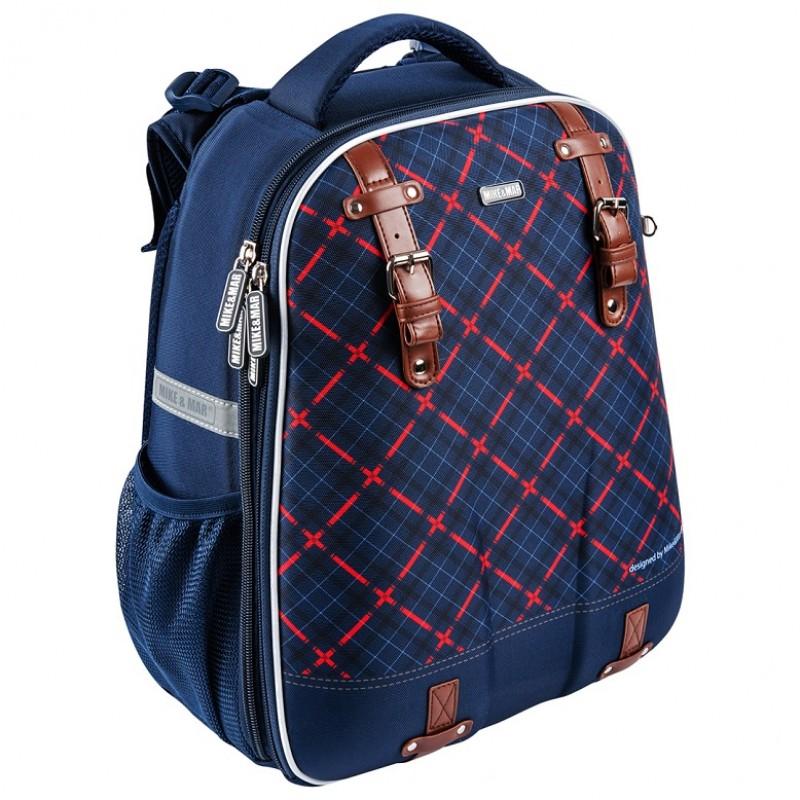 Школьный рюкзак OXFORD MIKE MAR 1008-161 синий + мешок, - фото 1