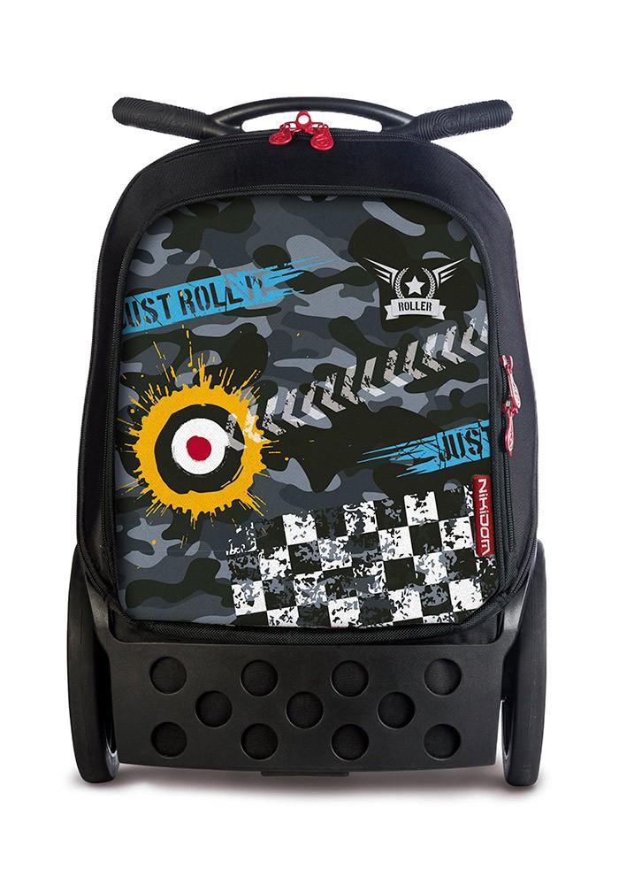 Рюкзак на колесиках Roller Nikidom Camo XL  арт. 9324 (27 литров), - фото 1