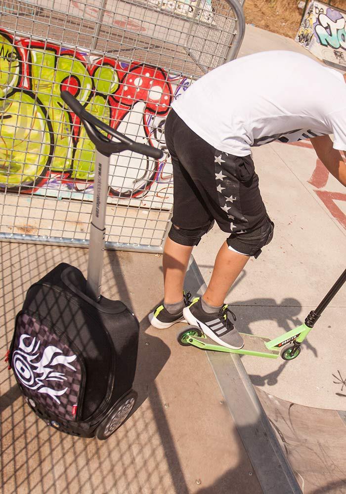 Рюкзак на колесиках Roller Nikidom Camo XL  арт. 9324 (27 литров), - фото 6