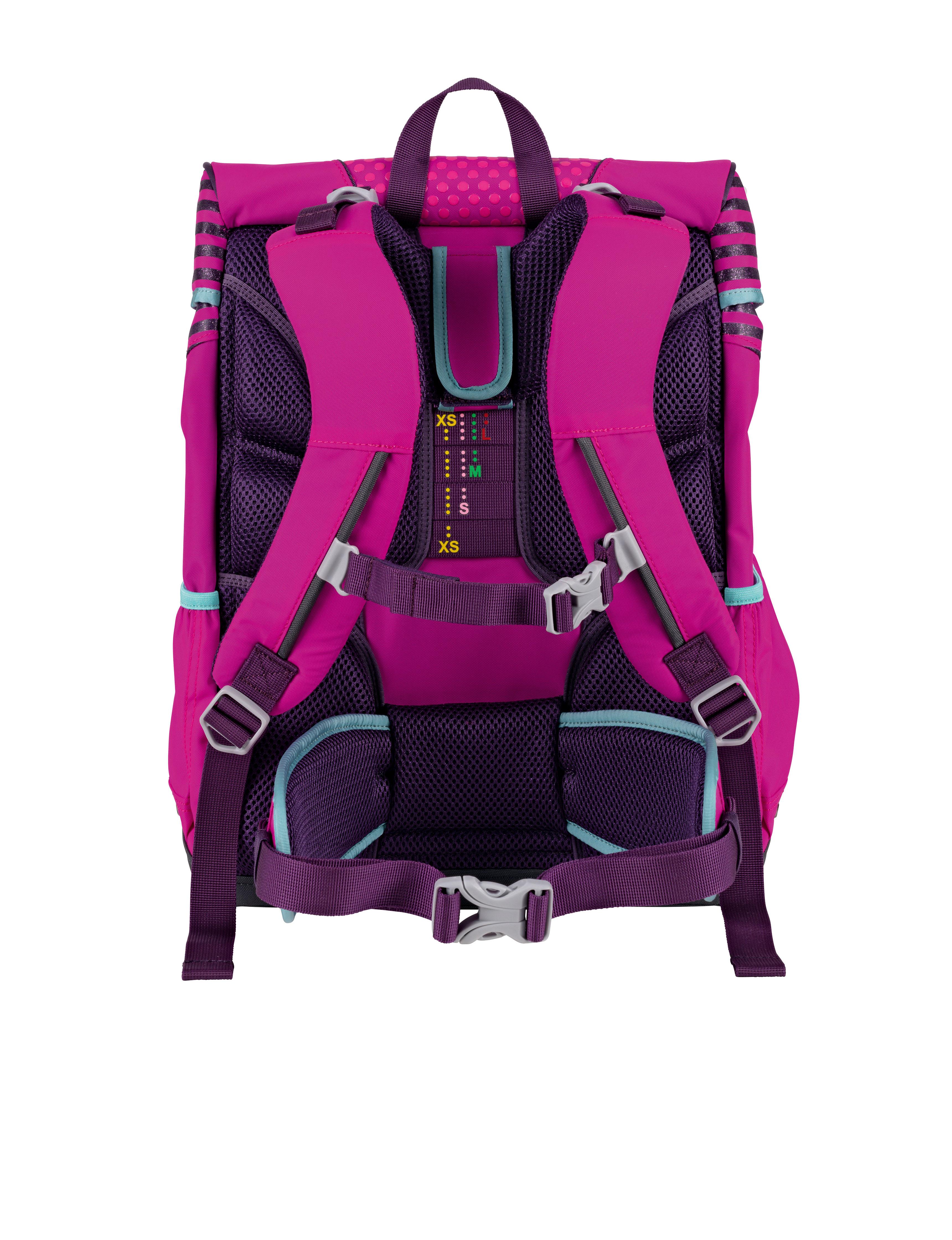 Школьный ранец DerDieDas ErgoFlex XL с наполнением Диско + нагрудный ремень, - фото 3